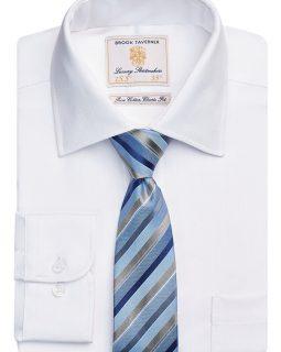 Altare Single Cuff Shirt Cotton Herringbone