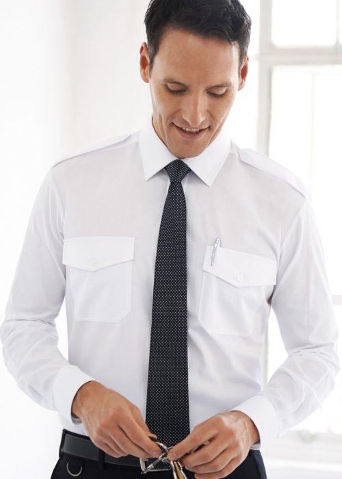 Ares Slim Fit L/S Pilot Shirt