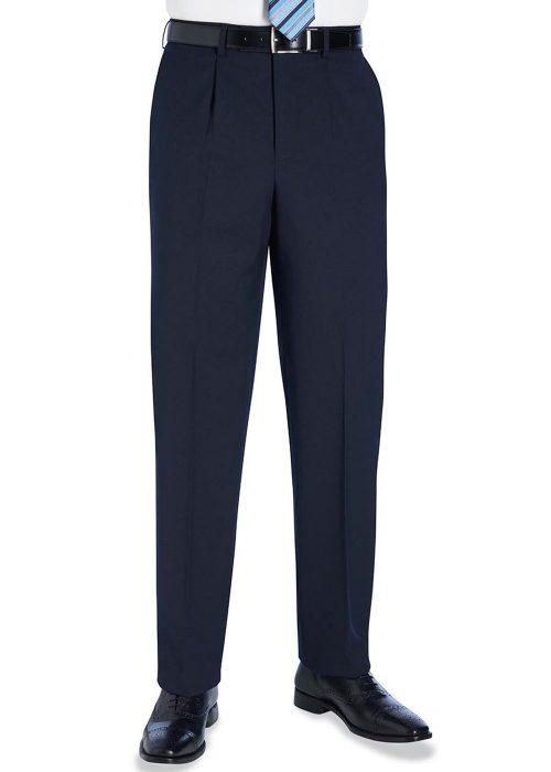 Langham Single Pleat Trouser