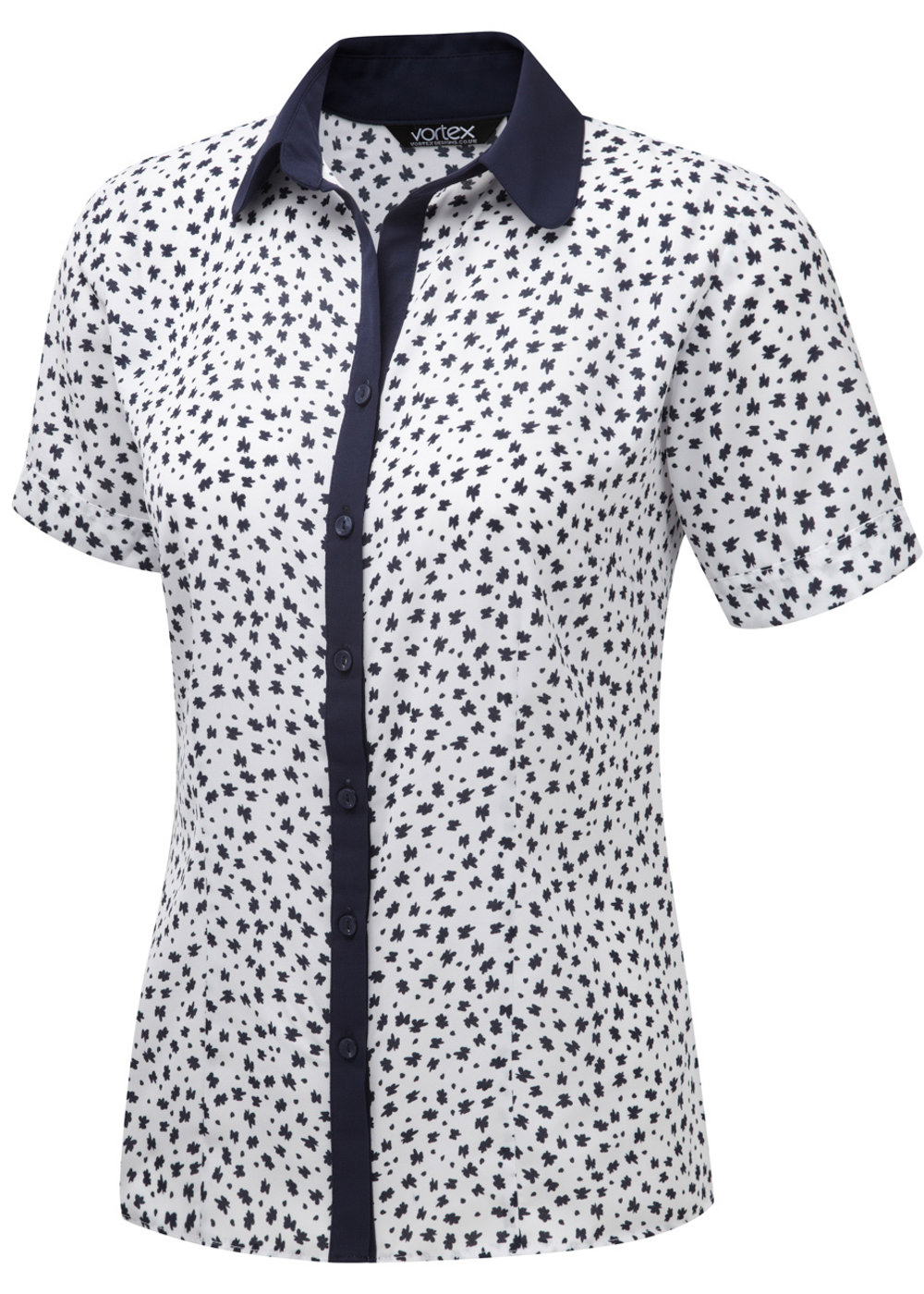 PIPPA - Printed soft touch crepe blouse